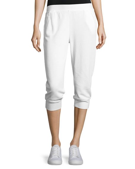ATM Anthony Thomas Melillo French Terry Capri Sweatpants,