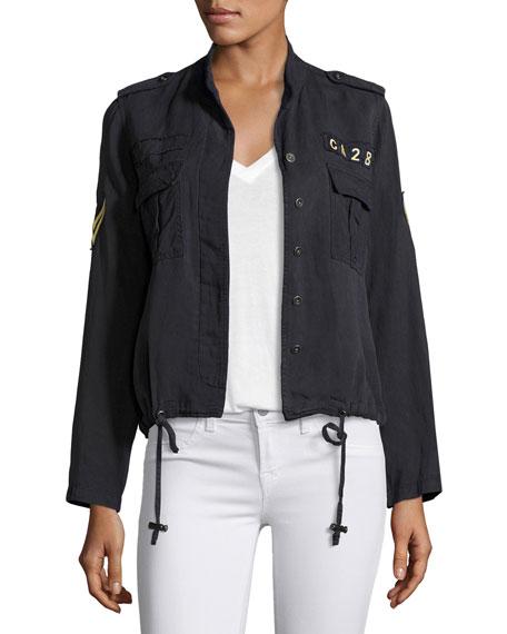 Rails Maverick Military-Style Jacket, Indigo