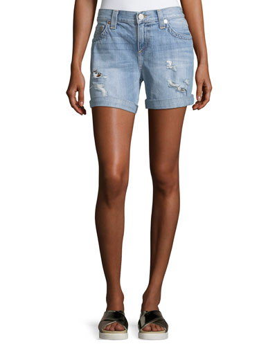Jayde Bermuda Short W/ Flap Pockets
