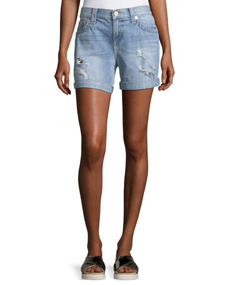 True Religion Jayde Bermuda Short W/ Flap Pockets