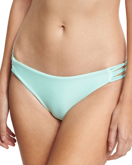 Splendid Sun Sational Cutout Swim Bottom, Green