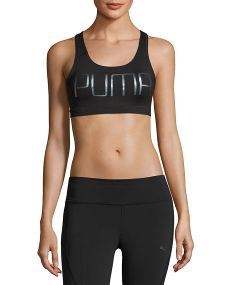 Puma PWRShape Forever High-Impact Sports Bra, Black