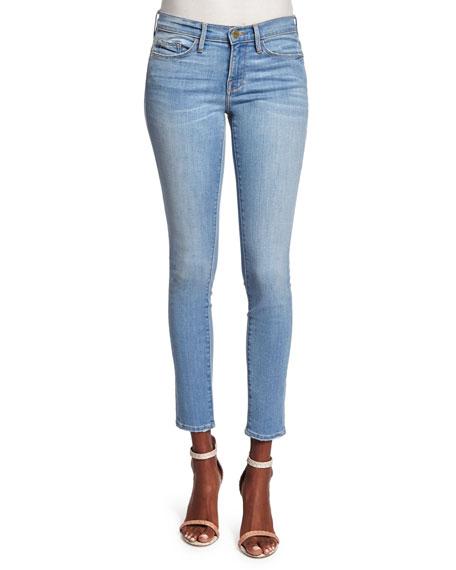 FRAME Le High Skinny Ankle Jeans, Himmel