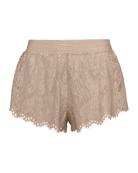 Fenty Puma by Rihanna B-Ball Lace Pajama Shorts,