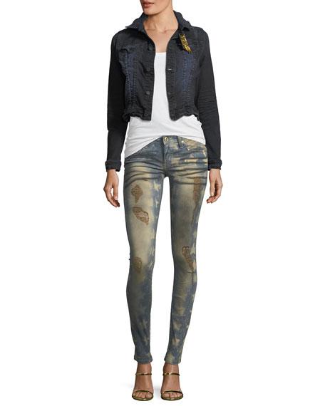 Marilyn Mid-Rise Skinny-Leg Jeans