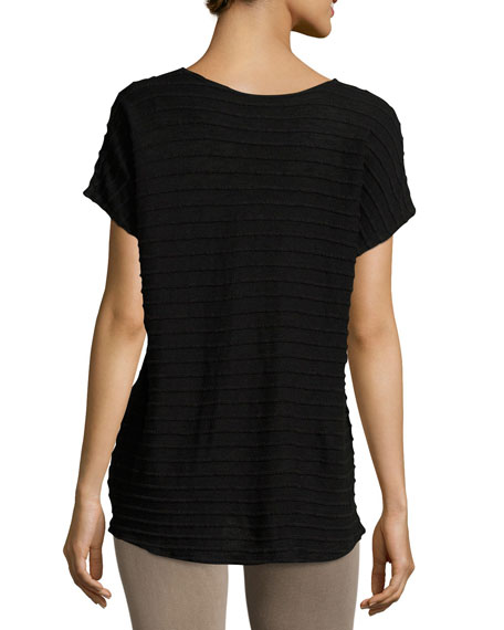 Meli Zita Knit V-Neck Top, Plus Size