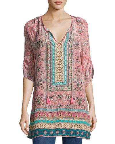 Tolani Plus Size Clothing : Tunics & Shirts at Neiman Marcus