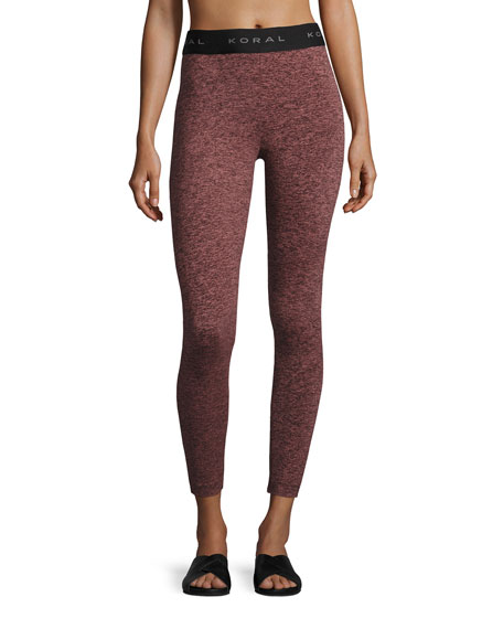 Koral Activewear Timelapse Heathered Performance Leggings