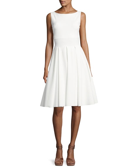 Chiara Boni La Petite Robe Doutzen Sleeveless Pleated