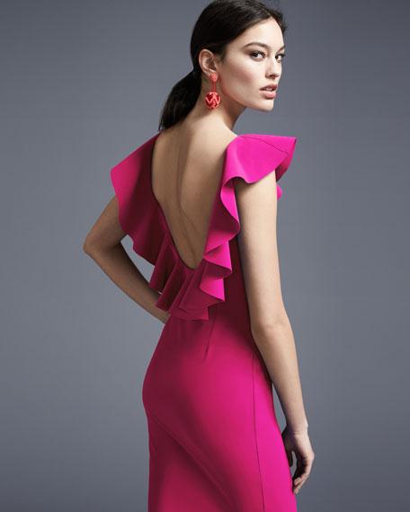 85fe321108b Ruffled Cocktail Dress – Fashion dresses