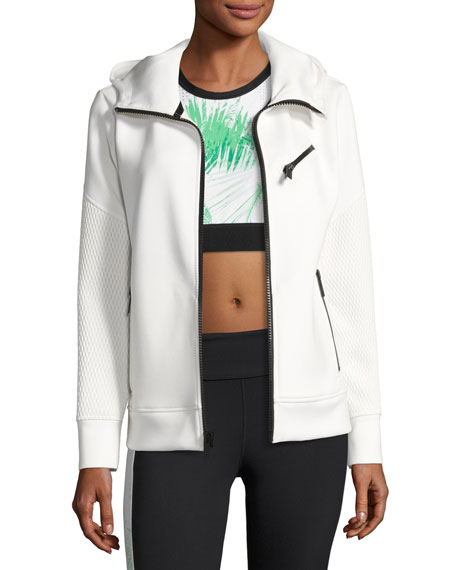Alala Neo Zip-Up Athletic Jacket, White