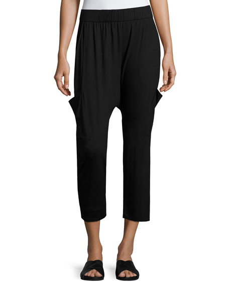 Eileen Fisher Lightweight Jersey Slouchy Pants