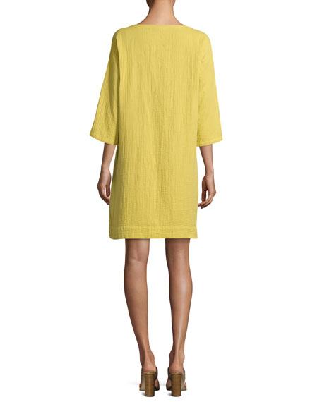 Organic Cotton Gauze Pocket Dress