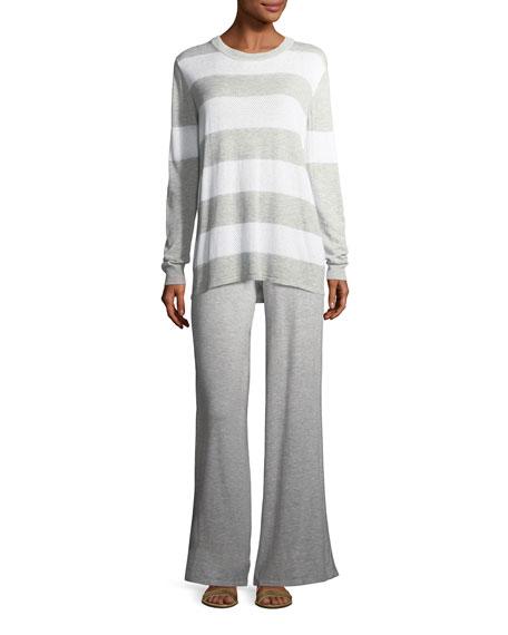Palazzo Knit Pants, Plus Size
