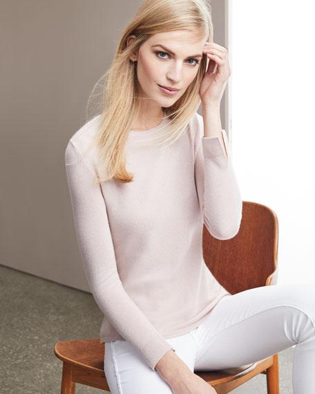 Modern Superfine Cashmere Crewneck Sweater