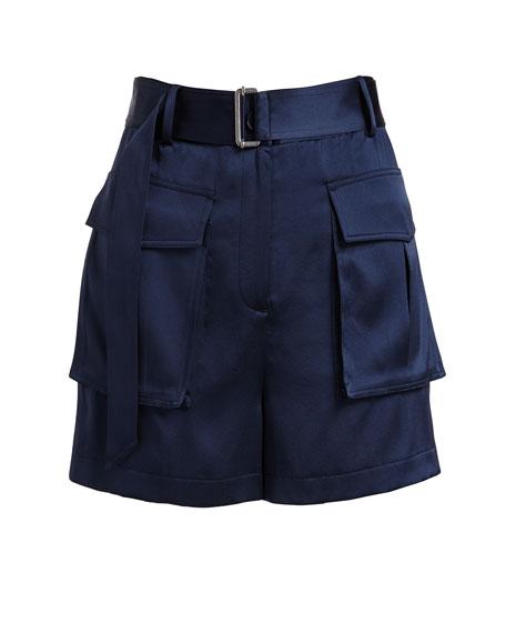 Vasilica Vintage Satin Shorts