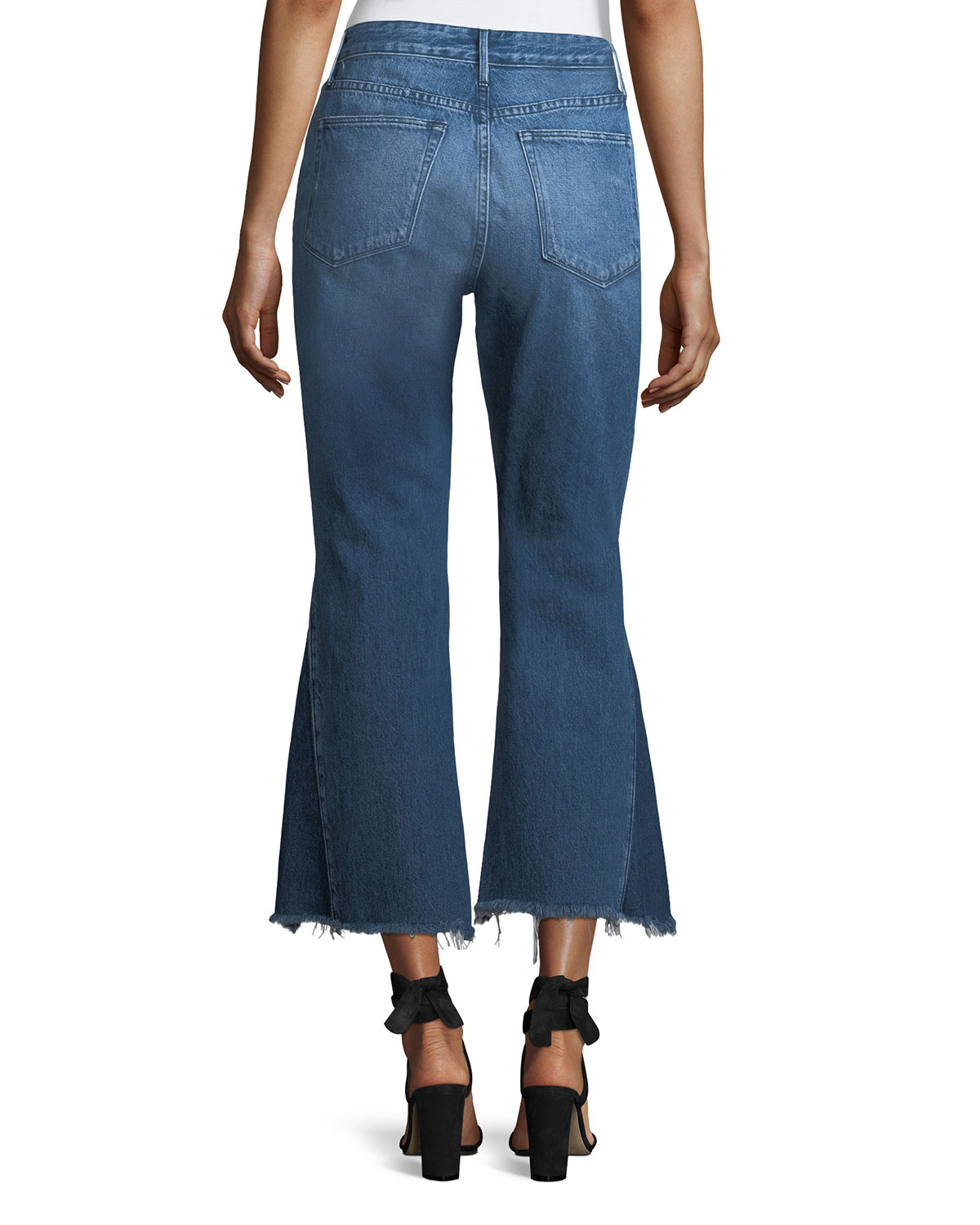Recommend Cheap Free Shipping Discount Higher Ground Gusset cropped jeans 3x1 Cheap Sale Cost Ex01E