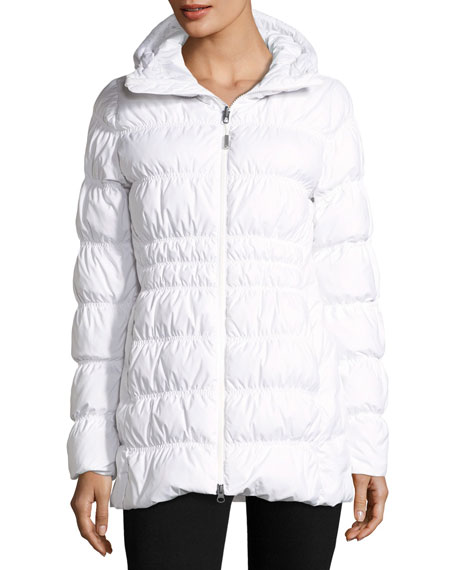 Cryos Stretch Down Puffer Jacket w/ Faux-Fur