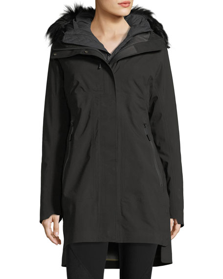 The North Face Triclimate® Hooded Zip-Front Parka Jacket