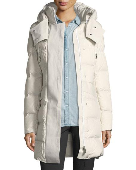 Peuterey Giffard Long Quilted Puffer Coat