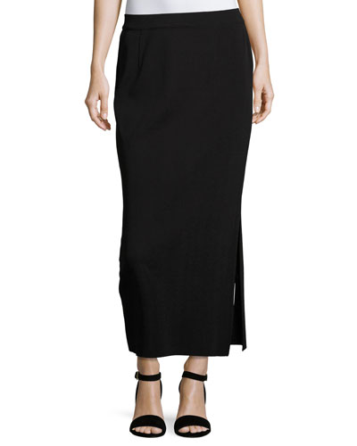 CLASSIC LONG STRAIGHT SKIRT