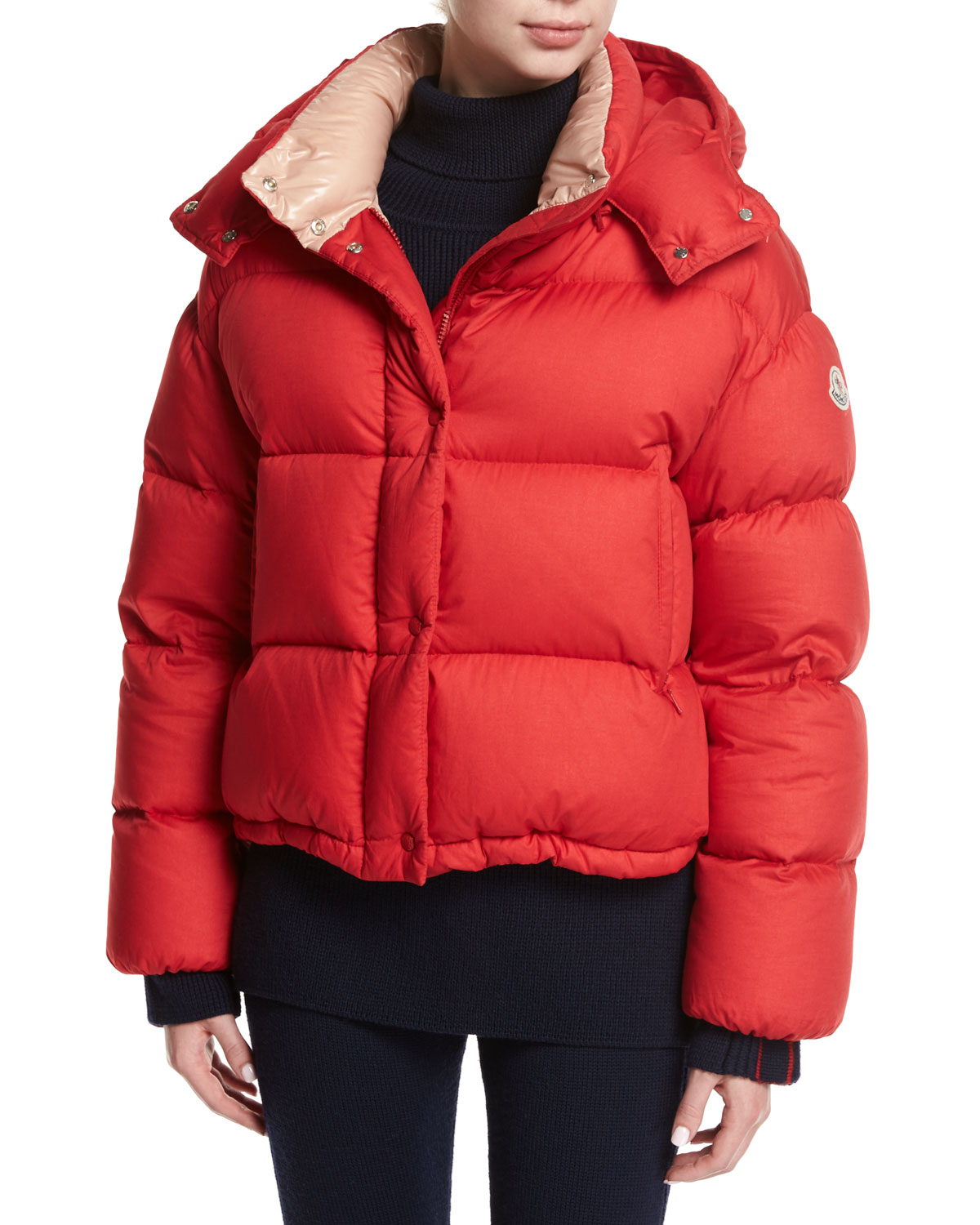 moncler paeonia quilted puffer jacket red neiman marcus rh neimanmarcus com