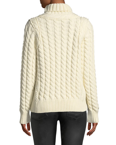 Maglione Chunky-Weave Wool Sweater