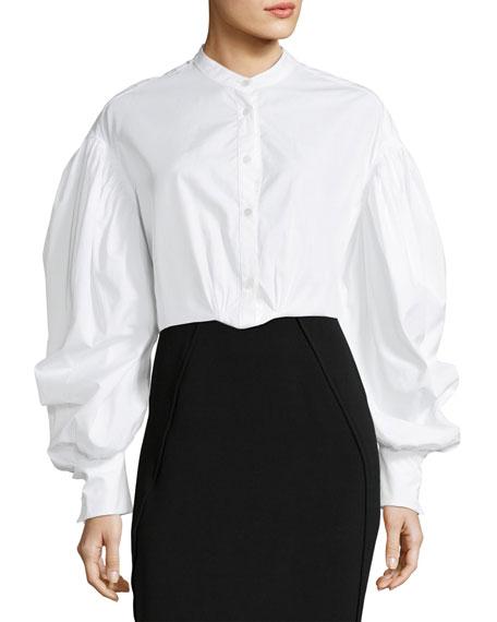 Lillium Voluminous-Sleeve Shirt