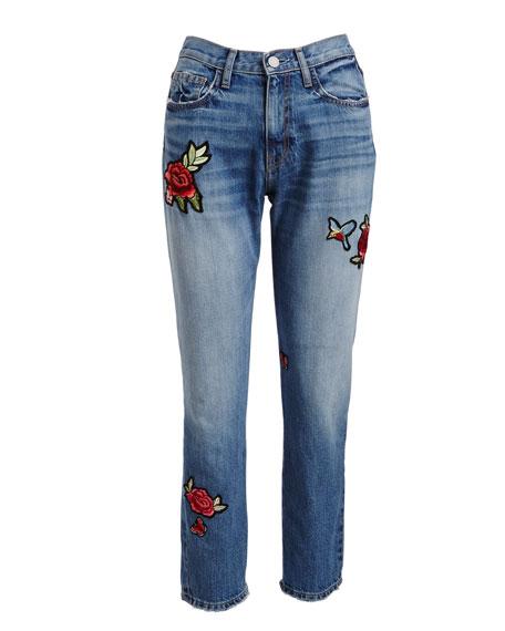 Josie Patched Denim Jeans