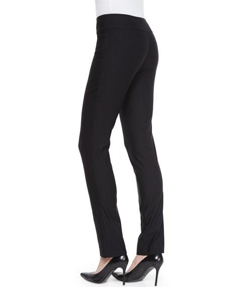 NIC+ZOE Petite Slim Wonderstretch Pants, Black