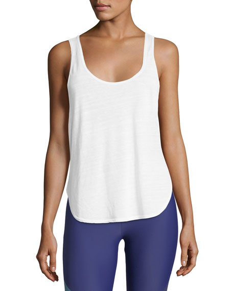 Lanston Scoop Muscle Performance Tank