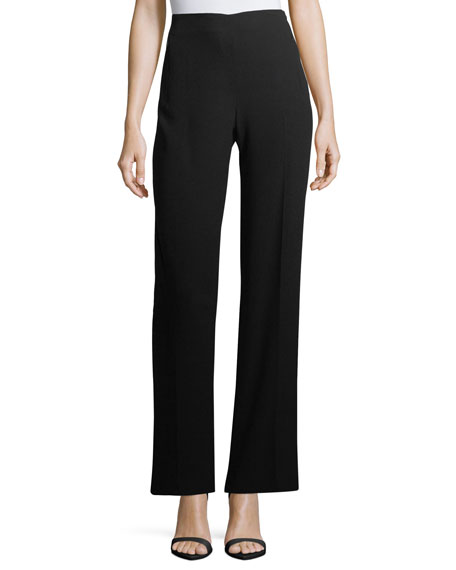 Elie Tahari Odette High-Rise Wide-Leg Pants