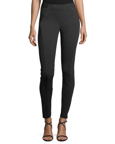 Elie Tahari Trina Skinny Stretch-Knit Ankle Pants and