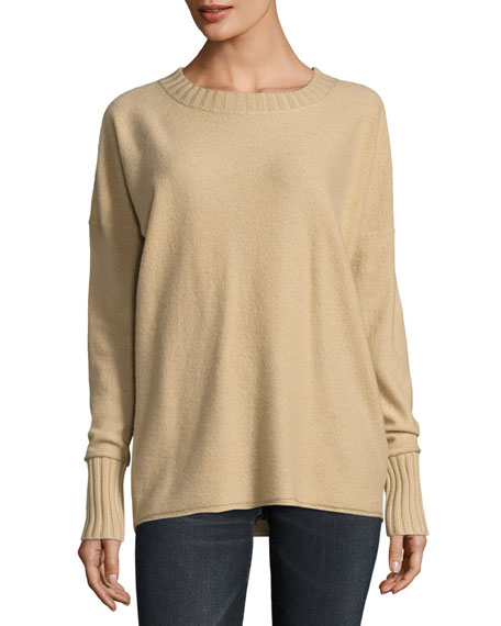 Vince Cashmere Crewneck Pullover Sweater