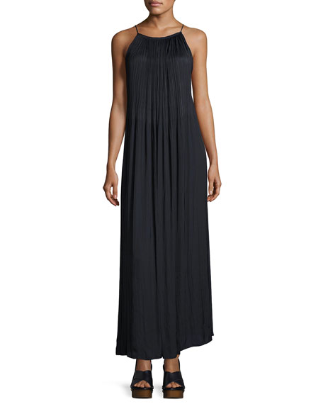 Elizabeth and James Orra Sleeveless Pleated Maxi Dress
