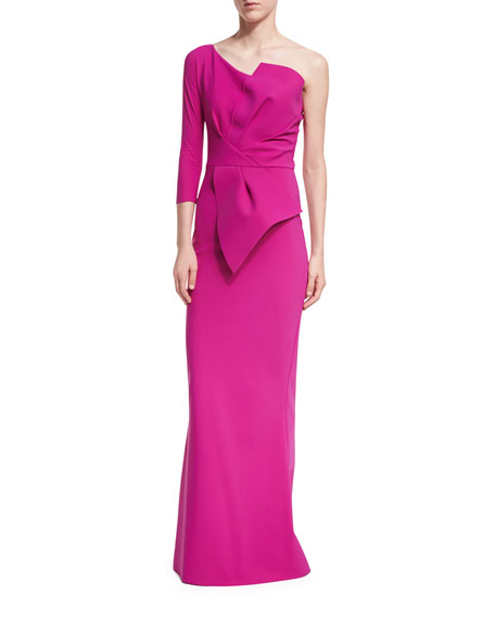 Anemone One-Shoulder Mermaid Gown