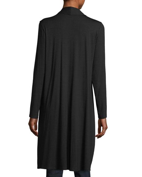 Lightweight Jersey Long Cardigan