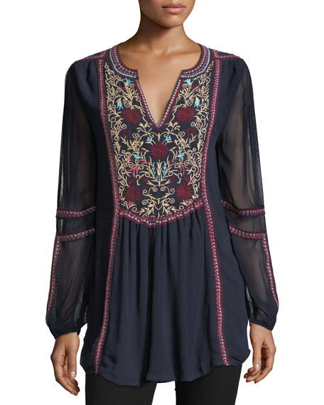 Brandy Boho Easy Tunic