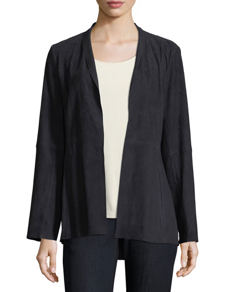 Eileen Fisher Jacket, Tunic, Jeans & Scarf, Plus