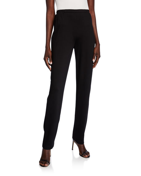 Caroline Rose Ponte Slim Pants