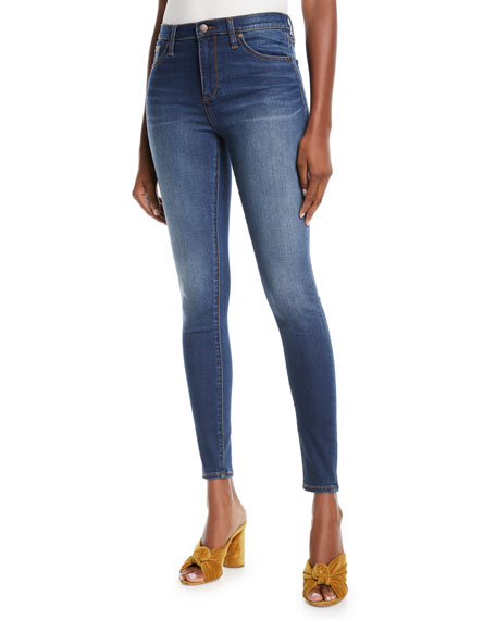 Skinny Mid-Rise Jeans