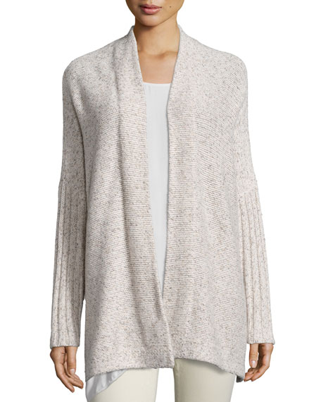 Eileen Fisher Fisher Project Tweed Poncho