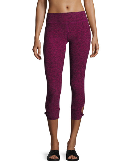 Beyond Yoga Twist and Shout Capri Performance Leggings