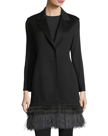 Neiman Marcus Cashmere Collection Luxury Double-Face Cashmere
