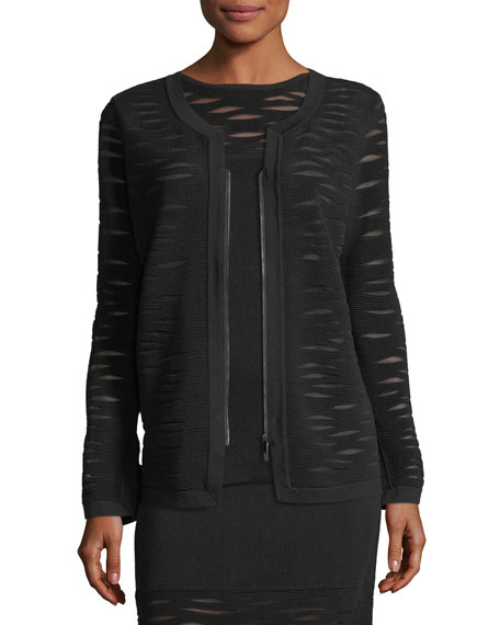 NIC+ZOE Aurora Textured Zip-Front Jacket and Matching Items