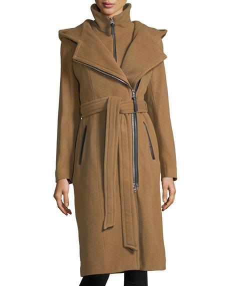 Mackage Janya Tailored Hooded Coat w/ Removable Bib