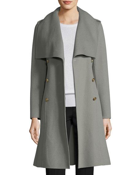 Parisa Double-Breasted Wool Coat