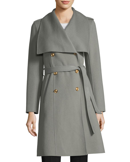 Mackage Parisa Double-Breasted Wool Coat