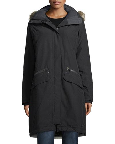 Joan of Arctic II Parka Jacket w/ Faux Fur