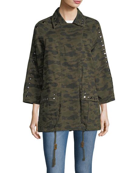 Monarda Camouflage Utility Coat